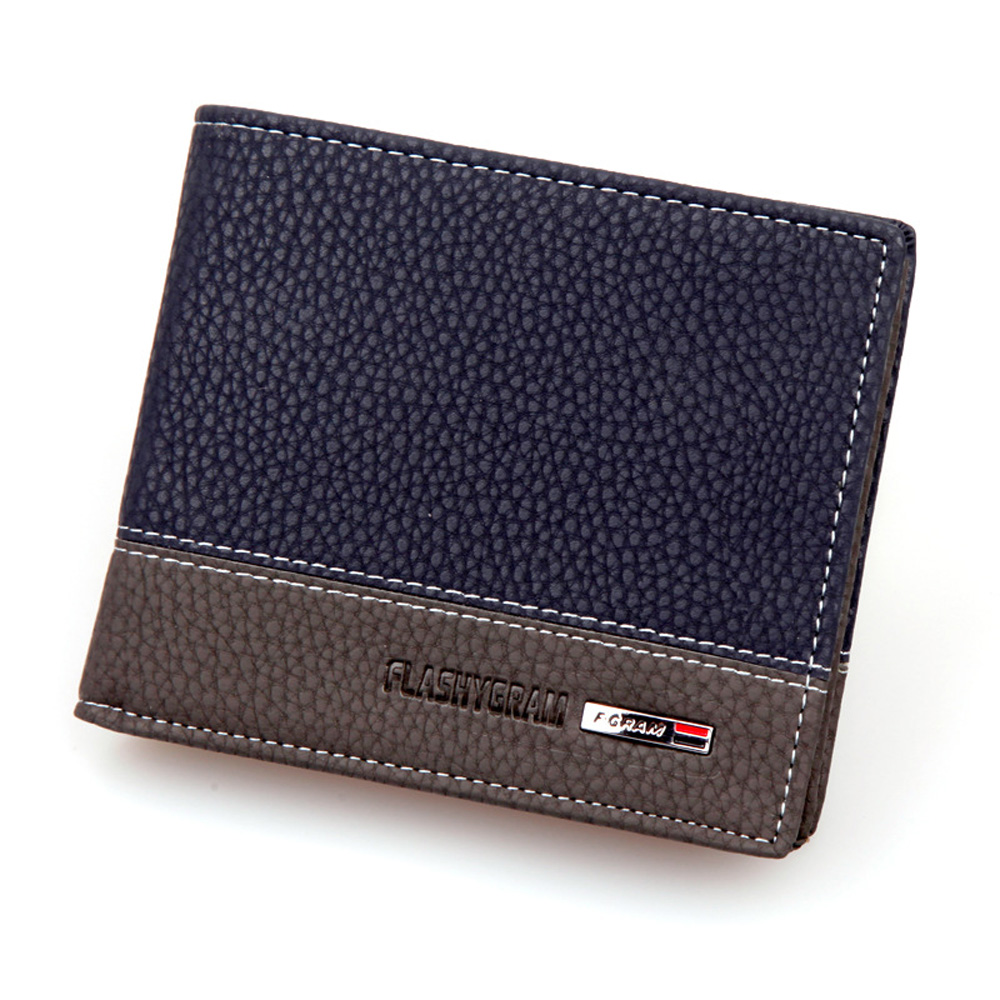 2016 wallets famous brand man wallet mens leather purses male slim credit card holder coin purse for men vintage wallet bolsa(China (Mainland))