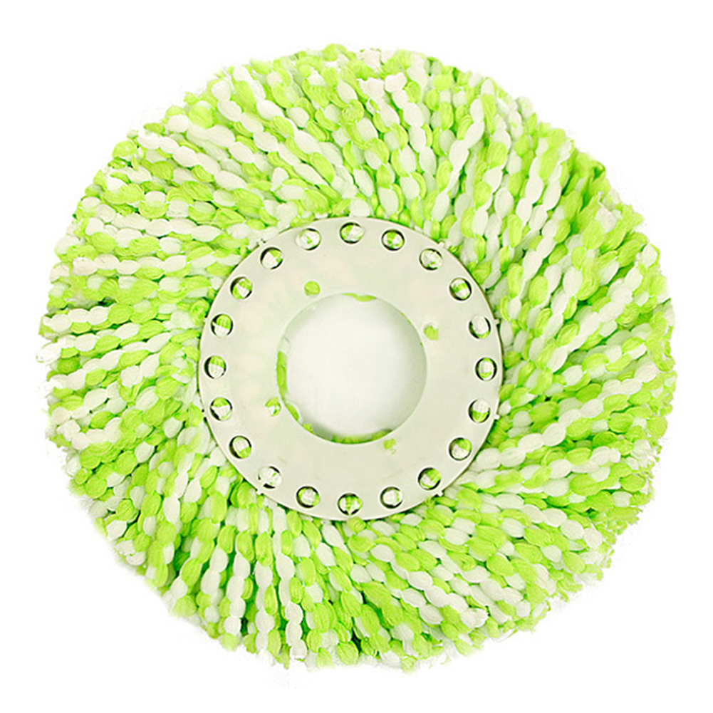 New Good QualityThree Colors 360 Rotating Head Easy Magic Floor Spin Mop Bucket Heads Micro Fibers Spinning Water Dust Absorbing(China (Mainland))