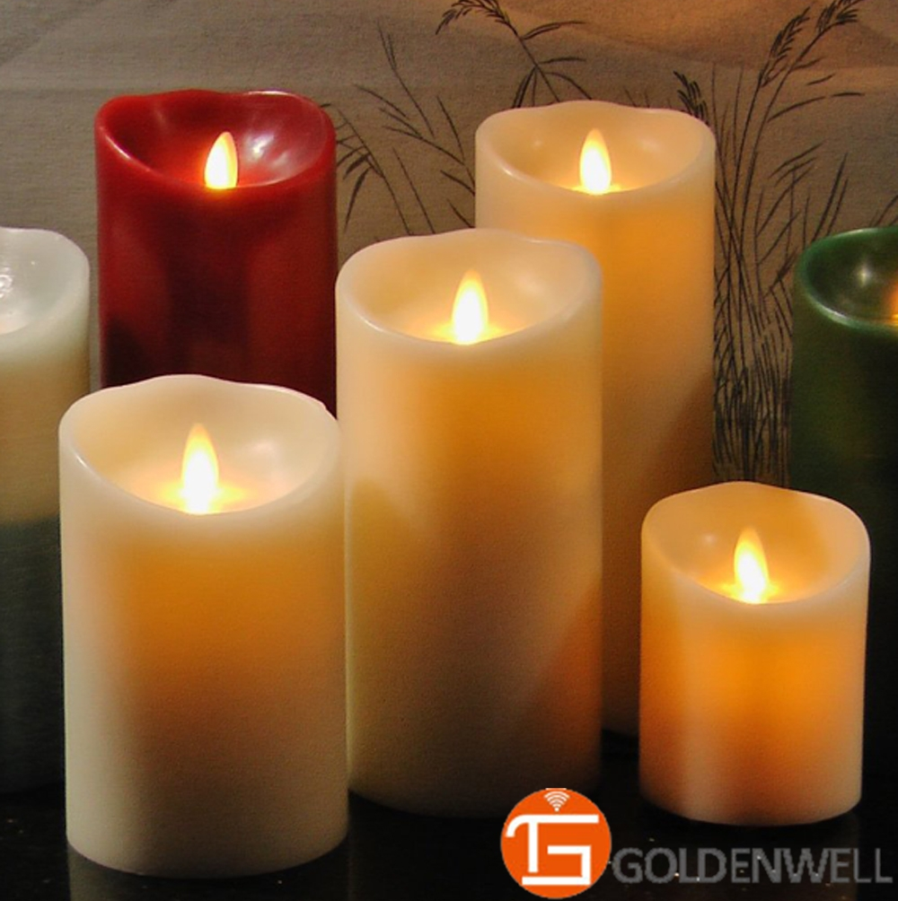 Wholesale Novelty Flameless Led Candle by Luminara 9 inch(China (Mainland))