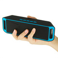 New Portable Wireless Speaker Bluetooth Stereo Subwoofer Boombox Built in Mic Dual Speakers Support TF FM