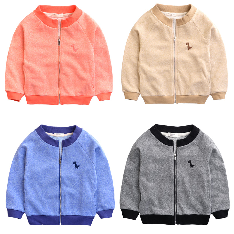 The boy sweater coat zipper cardigan sweater 2015 Korean spring children's new baby in the spring and autumn sweater(China (Mainland))