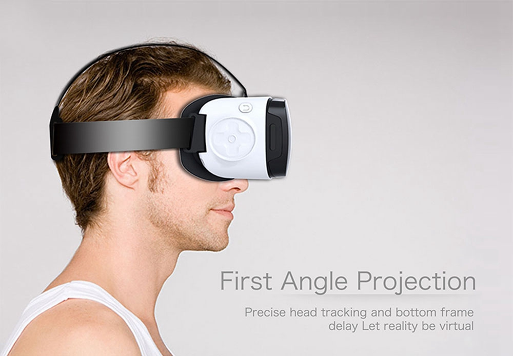 ถูก All-in-one 3D VRกล่องที่สมจริงแว่นตาเสมือนจริงWiFiบลูทูธ4.0ส่วนตัวโรงละครสมาร์ทVrbox 1080จุดหน้าจอHDชุดหูฟัง