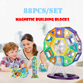 92pcs Magnetic Constructing Blocks Mini 3D Mannequin Magnet Development Toys Set Early Enlighten Instructional Toys For Youngsters Reward