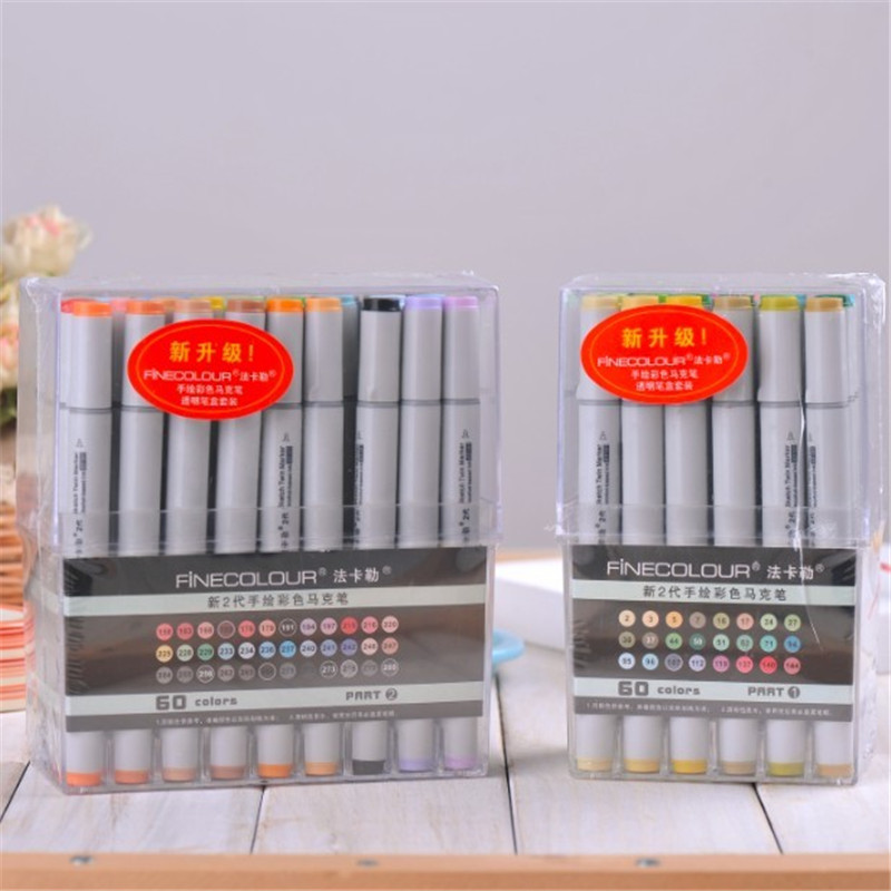 Alcohol 24-72 Colors General Copic Markers color, two generation Informs Marker Coloring Permanent Color Marker Sketch Markers <br><br>Aliexpress