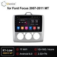 Ownice 8 Core Android 9.0 K3 K5 K6 Xe 2Din DVD 360 Toàn Cảnh DSP 4G SPDIF GPS navi Dành Cho Xe Ford Focus 2007-2015 Âm Thanh(China)