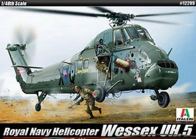 Academy 1/48 Plastic Model Kit WESSEX UH.5 Royal Navy Helicopter 12299 ITALERI<br><br>Aliexpress
