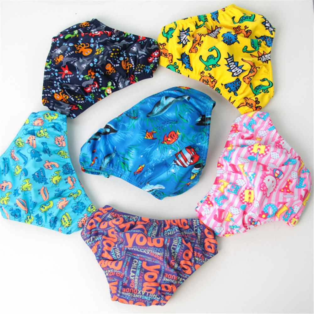 The Best Baby Swim Nappies Eco-friendly Reusable Swimming Diapers Breathable Swim Pants Baby(50Sets)
