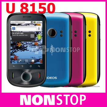 "Original  Huawei IDEOS U8150 Android 2.2 3G HSDPA Hotspot GPS 2.8"" Capacitive Screen unlocked phone Free Shipping"