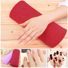 100% New Selling!1pc Soft Nail Art Hand Holder Cushion Pillow Nail Arm Rest Manicure Tools Detachable Washable Nail Tools 2016(China (Mainland))