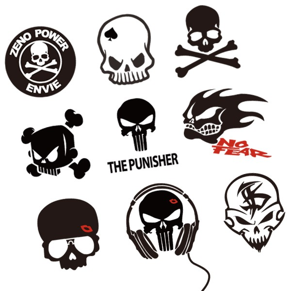 Stickers Scooter Scooter Decals Stickers
