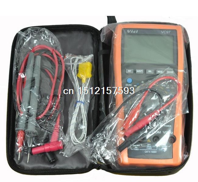 Гаджет  VC97 Auto Range DMM AC DC Voltmeter Capacitance Resistance Digital Multimeter Tester RCF Diode Buzz None Электротехническое оборудование и материалы