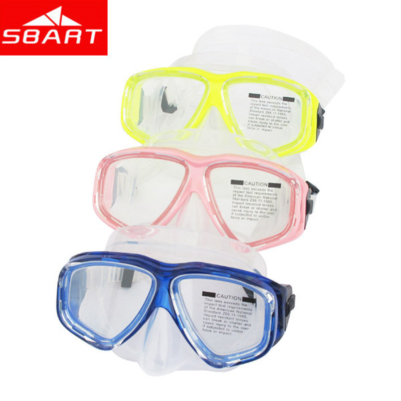 SBART Myopia Diving Mask To Scuba Diving Swimming Tempered Glass Professional Optical Goggle Mask For Nearsighted People N(China (Mainland))