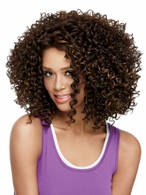 Afro kinky Short synthetic curly Wigs for Black Women african american font b hair b font