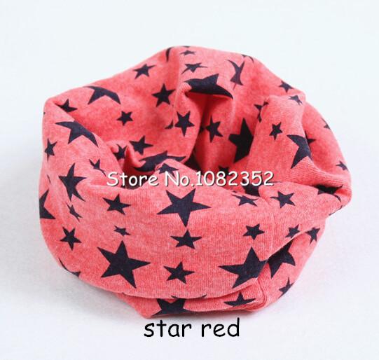 children boy girl cotton scarf ring collar baby head scraf neckerchief warmer headband star checking dolphin pattern free ship(China (Mainland))