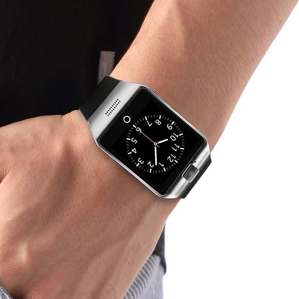Bluetooth Smart Watch Support SIM Card W/Camera NFC Andorid Phone Silver smartwatch 2015 phone watches phone watch APE(China (Mainland))