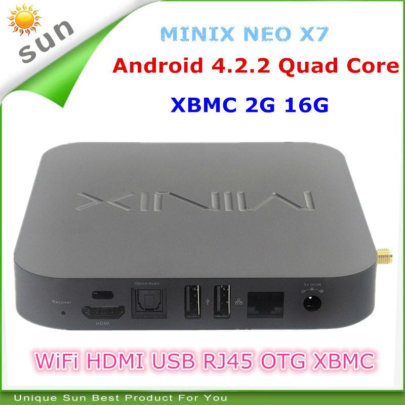 Приставки Android Tv Box Minix X7 Mini