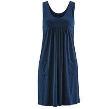 Модное Полосатое платье большого размера, летнее платье, свободное простое платье без рукавов, женская одежда(China)