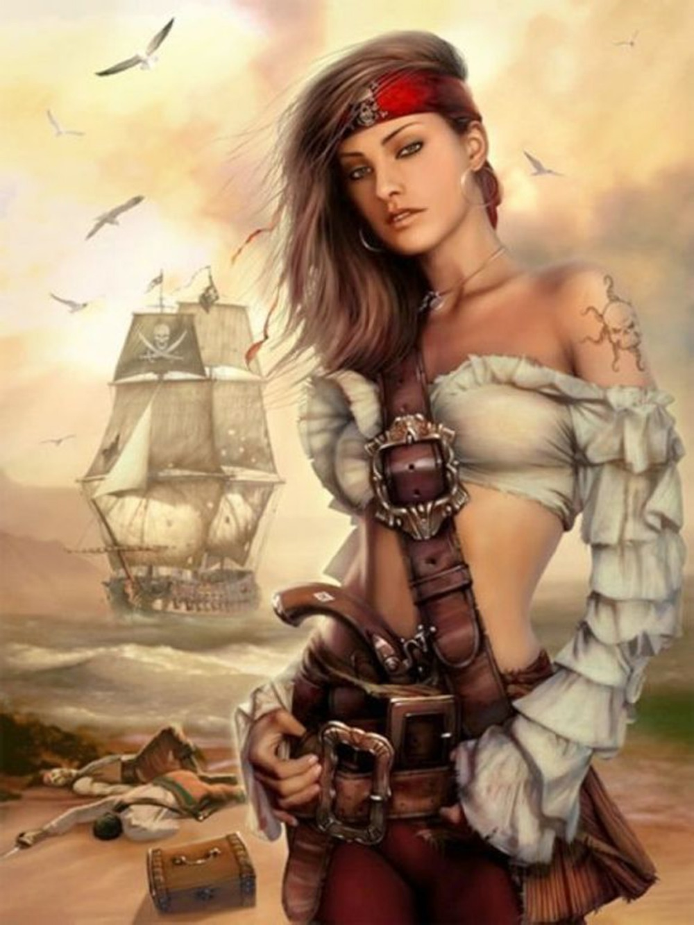 Female pirates images erotic clips