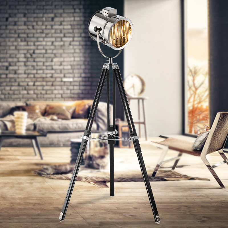 buy modern spotlight marine signal tripod floor lamp for living room abajur. Black Bedroom Furniture Sets. Home Design Ideas