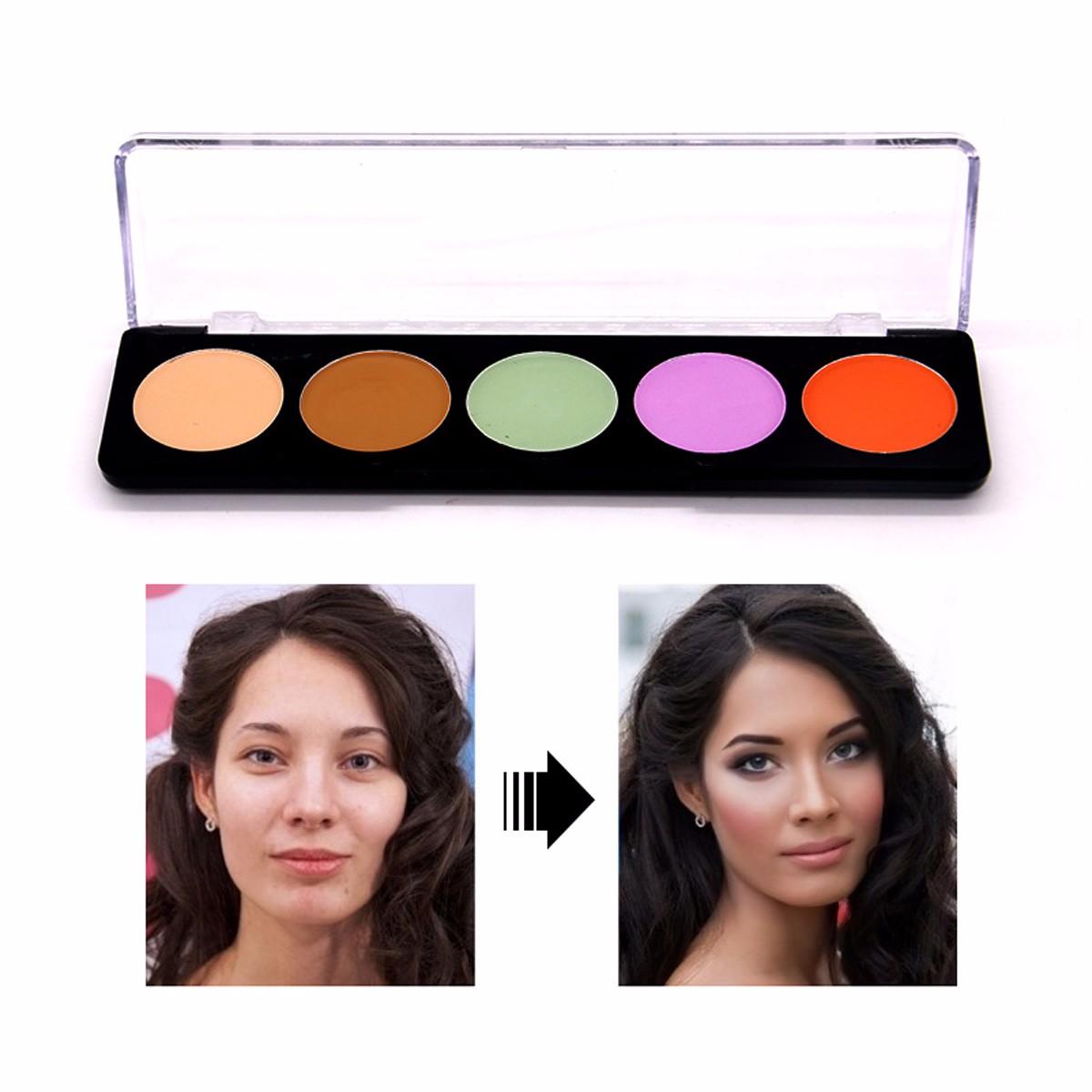 Miss Rose Concealer Face Makeup Natural Brighten Foundation Net Content 6g
