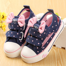 2016 New children shoes girl shoes children canvas shoes toddler cutout style spring and summer baby shoes girl sneaker(China (Mainland))