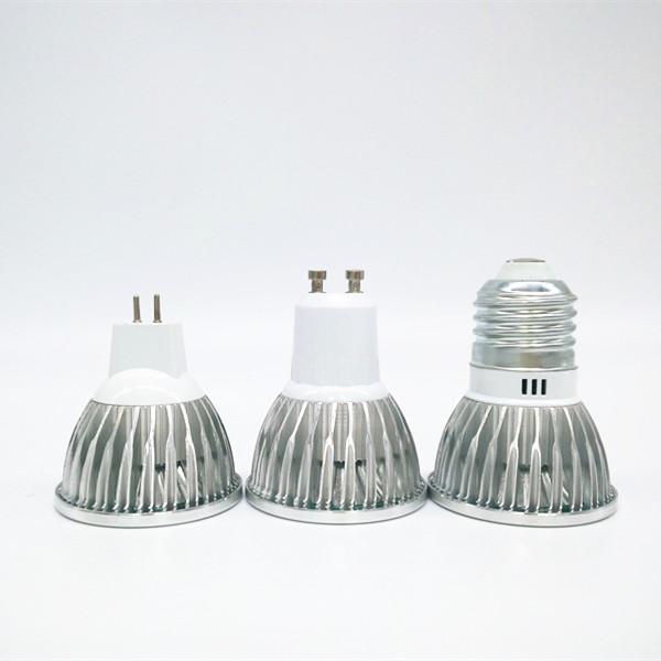 2016 Hot Sales led Light E27/GU10/MR16 led lamp 3W spotlight COB led candle bulb high quality AC 110V 220V downlights(China (Mainland))