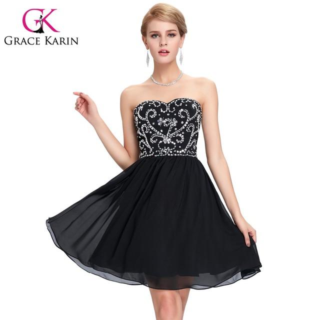 Грейс карин синий зеленый черный короткие платья выпускного вечера милая танец сексуальный ...