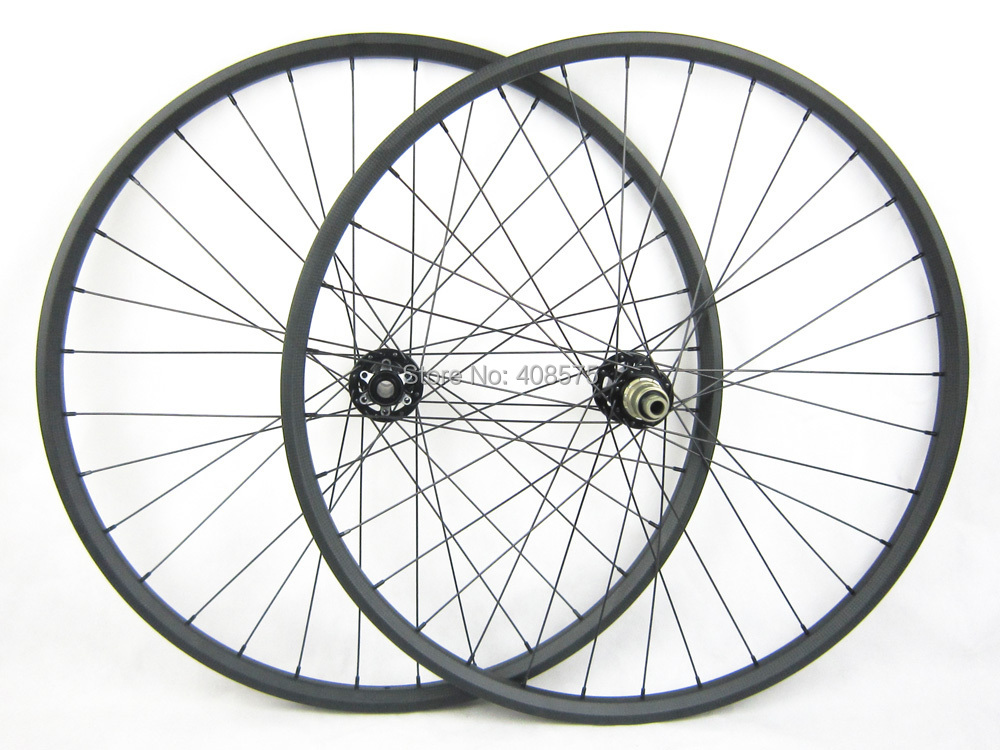 2015 Hookless AM 29er carbon mtb bike wheel,mountain bicycle wheel 29inch,tubeless 20mm profile 30mm width(China (Mainland))
