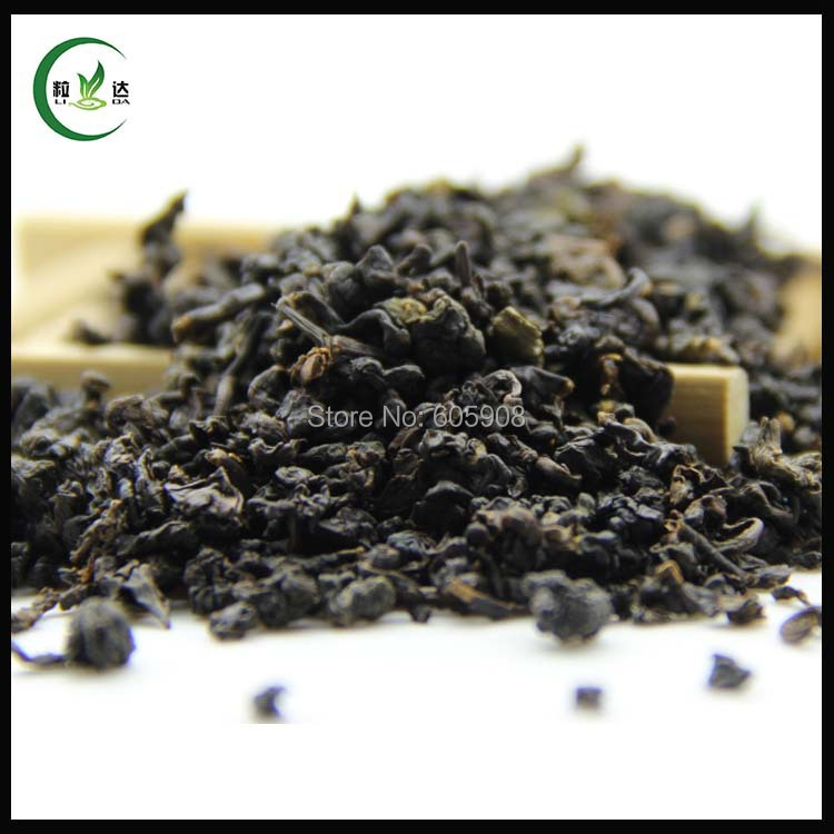 100g Supreme Organic Taiwan High Mountain Black GABA Oolong Tea