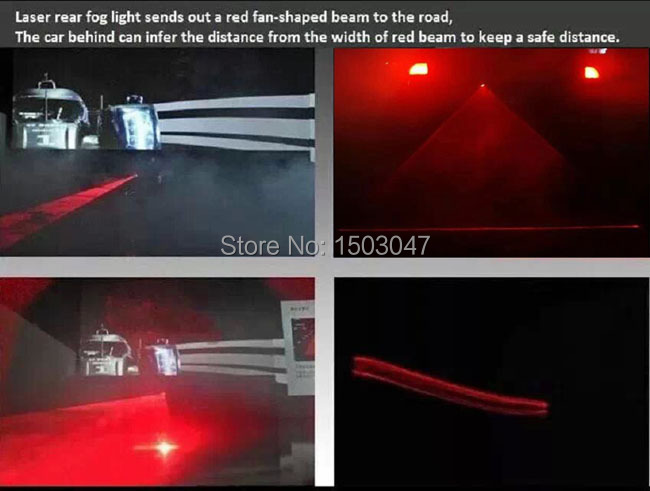 Free shipping Mercedes Benz CL Class Fog lamps Laser Fog Light Warning Lamp Laser CLS350 2005 - 2011 For All Models Car Styling(China (Mainland))