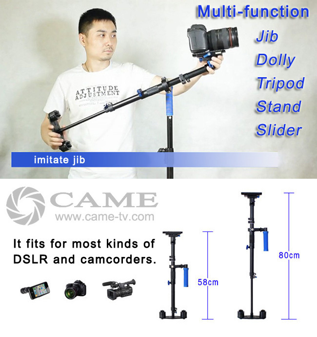 Multifunction stabilizer S-80 Steadicam Stabilizer Single arm Steadicam Carbon Fiber Camera Sled(China (Mainland))