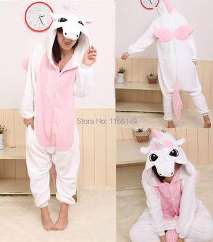 Cartoon animal costume unicorn onesies Pajamas adult Pyjamas Unisex pijamas ,sleepwear ,pajamas set