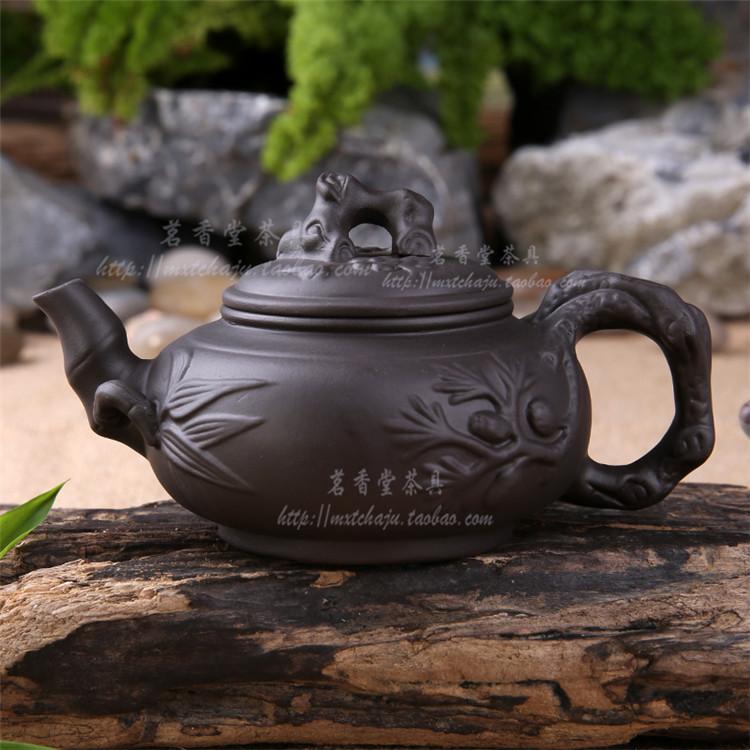 New 2015 Chinese kung fu tea set Yixing purple grit teapot zhu ni pot big tea