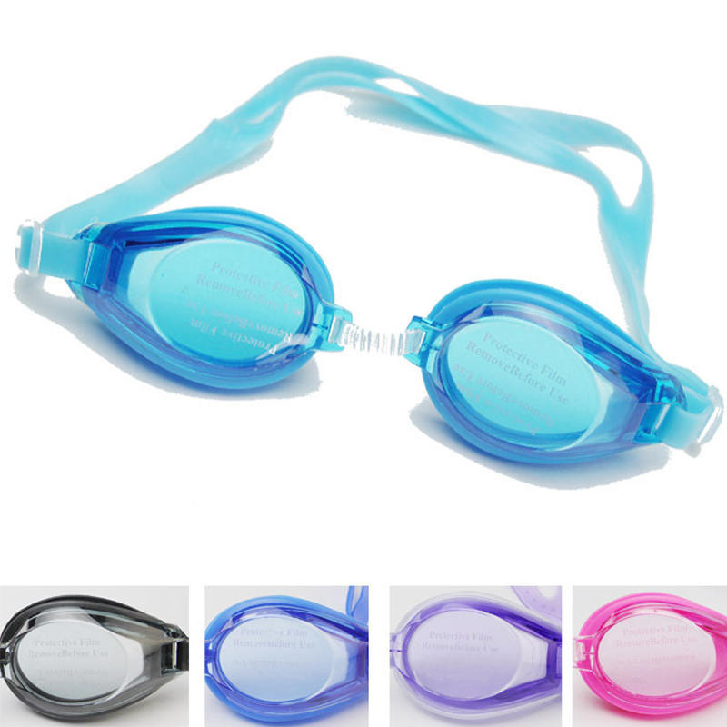 New Children Kids Outdoor Swim Pool Anti fog Swimming Goggles Glasses Eyewear Accessories for Boys Girls with Earplugs Pouch Bag(China (Mainland))