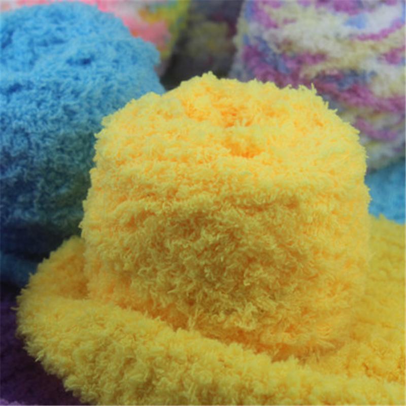 Fio de crochê bebê grossas de lã para tricô mão Eco Friendly pintado cachecol de lã meada laine Brei Haak Garen Katoen 300 g(China (Mainland))