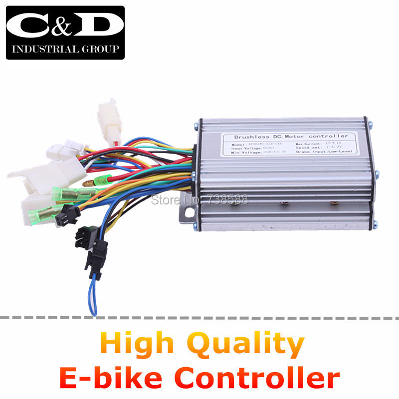 Buy High Quality 36v 48v 250w Brushless Dc Motor Controller E Bike Controller