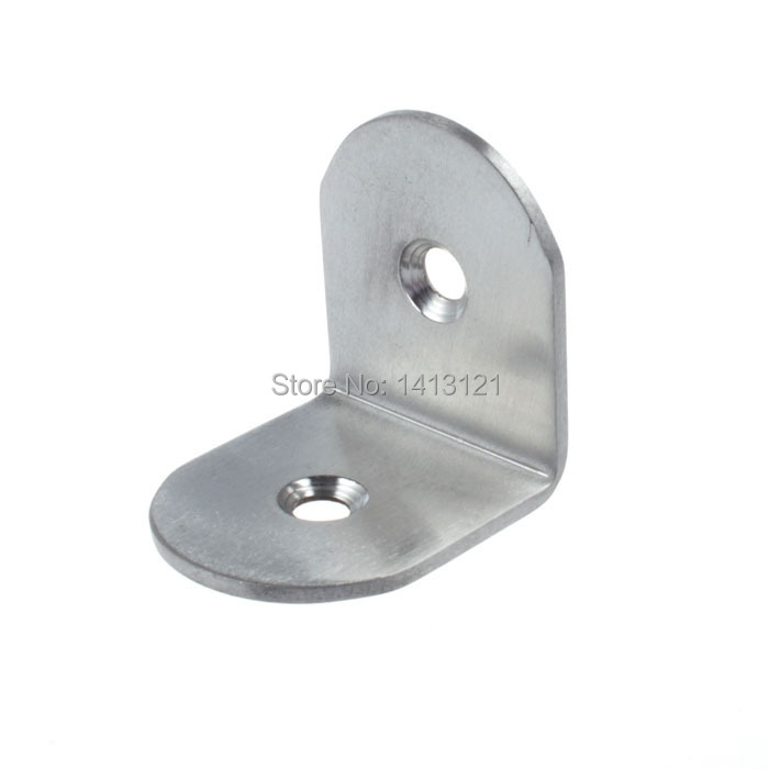 free shipping metal corner bracket thickened stainless steel angle code angle iron DIY part furniture fitting household hardware(China (Mainland))