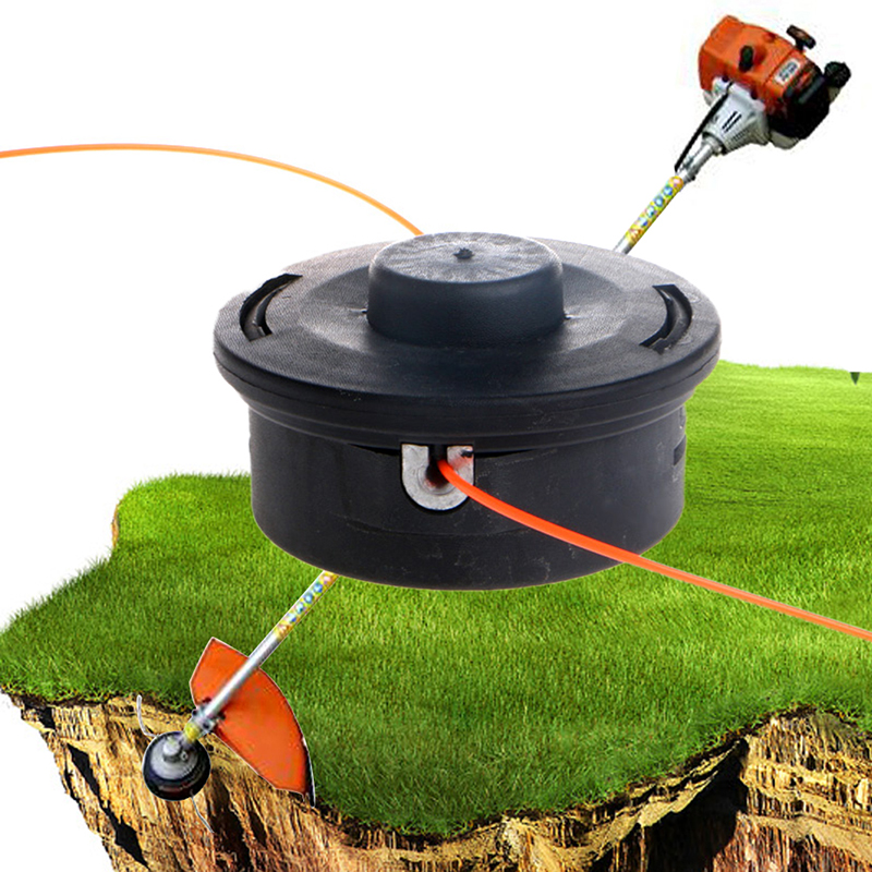 Garden Tools Auto Bump Lawn Mower Grass head Cut Nylon Line String Trimmer Replacement Bump Head For Lawn Mower Accessories(China (Mainland))