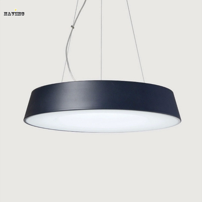 Modern Black LED Pendant Light White LED Suspension Hanging Light Fitting 100% Guarantee Fast and Free Shipping<br><br>Aliexpress