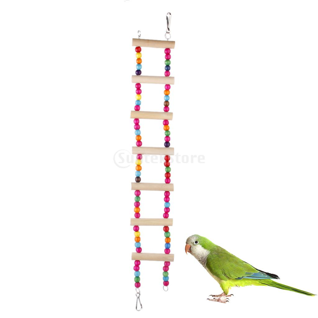 Wooden Bird Round Swing Bird Toy Cage Toys for Squirrels Parrots Free Shipping(China (Mainland))