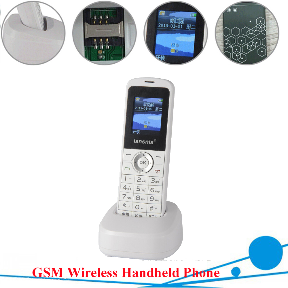 GSM 850/900/1800/1900MHZ WIRELESS HANDHELD PHONE , GSM HANDSET,GSM Phone for home and office use, Support 8 country language.(China (Mainland))