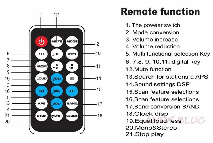 Купить 2016 Новый 12 В Стерео Fm-радио MP3 Аудио Плеер Поддержка Bluetooth Телефон с USB/SD/MMC, Порт Электроники Автомобиля В-Черточки 1 DIN