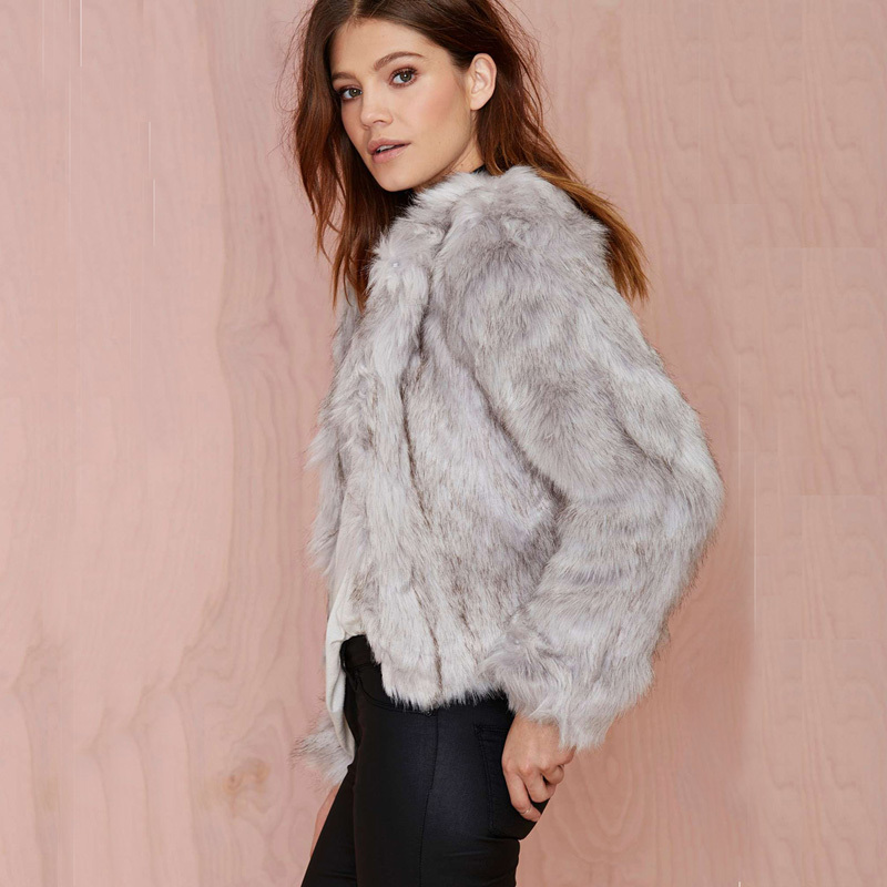 Fur Short Coat | Down Coat