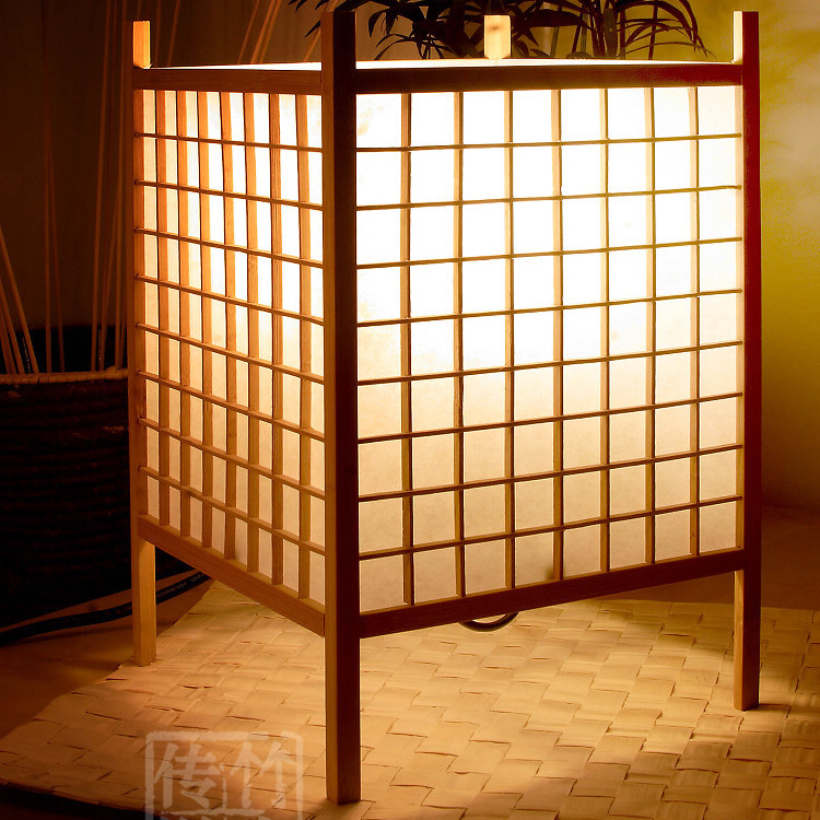 japanese wood lamps 3