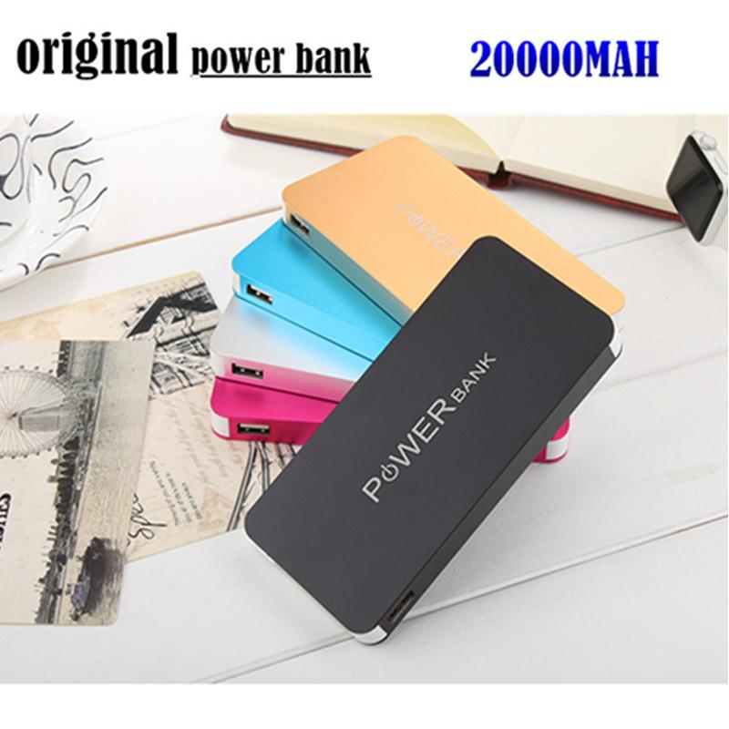 Новый двойной интерфейс банк 20000 мАч зарядное устройство универсальная мобильная замена аккумуляторных батарей для samsung iphone ipad xiaomi chatger