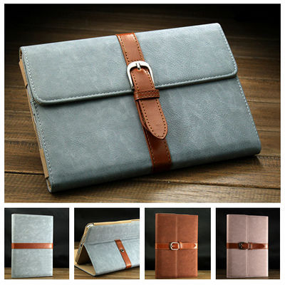 Free Shipping Business PU Leather Stand case for iPad Mini New Smart cover with buckle fashion design