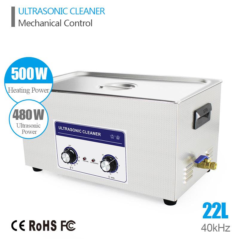 Ultrasound Injector Cleaning Transducer Machine Ultrasonic Washer 480W 40kHz 22L Industrial Ultrasonic Generator Bath Cleaner(China (Mainland))