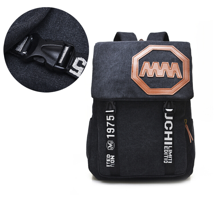 High capacity Vintage Backpack Fashion High quality men Canvas Backpack boy school bag Casual Travel Bags YQL-9526(China (Mainland))