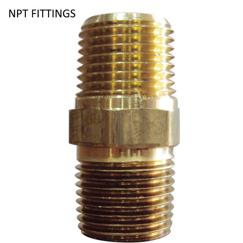 Aliexpress buy factory direct brass pipe hex nipple
