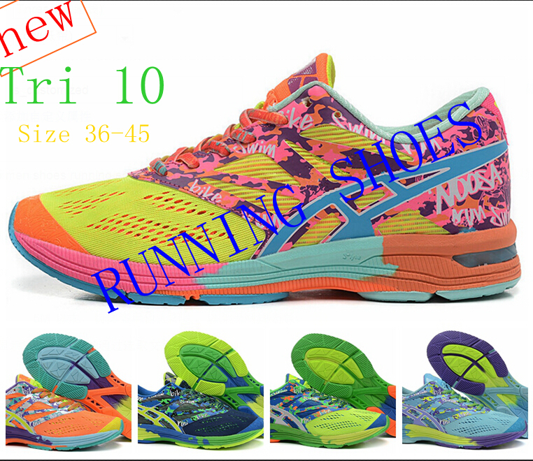 2015 free shipping newest gel running shoes for men and women and ladies ourdoor casual women shoes noosa tri 10 size 36~45(China (Mainland))